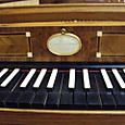平井千絵さんのフォルテピアノ鍵盤部